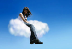 sitting on a cloud oblivious(3)