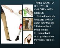 helping children with stress - Three ways to help your child with stress