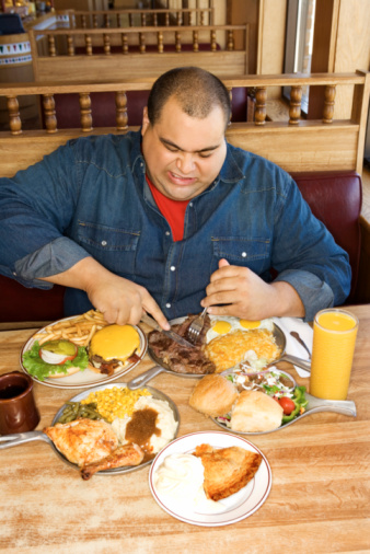gluttony from stress