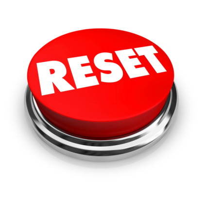 pressing reset button and starting afresh