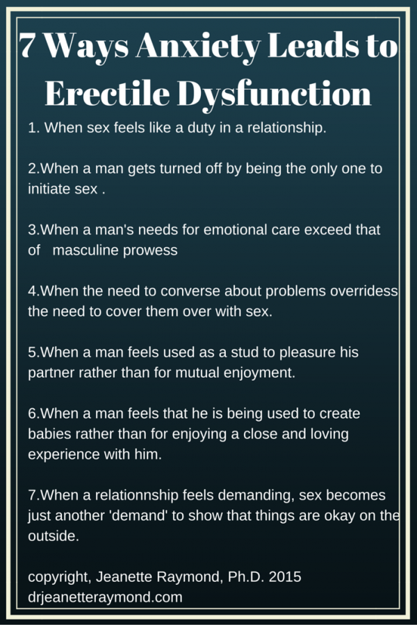 Treatment for sexual problems