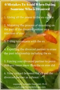 divorce 3 - Dating Someone Who is Divorced- Six Mistakes To Avoid