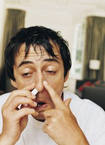marriage stress and sinus inflammation