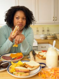 stress eating links to obesity and depression